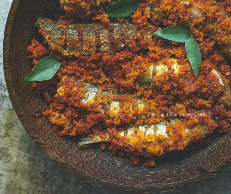 Picture Thalassery Style Sardine Fry