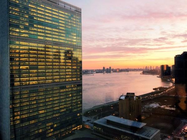 York United Nations Secretariat Building 154m