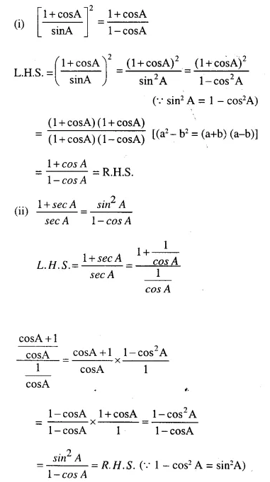 Selina Concise Mathematics Class 10 ICSE Solutions Chapterwise Revision Exercise 96a