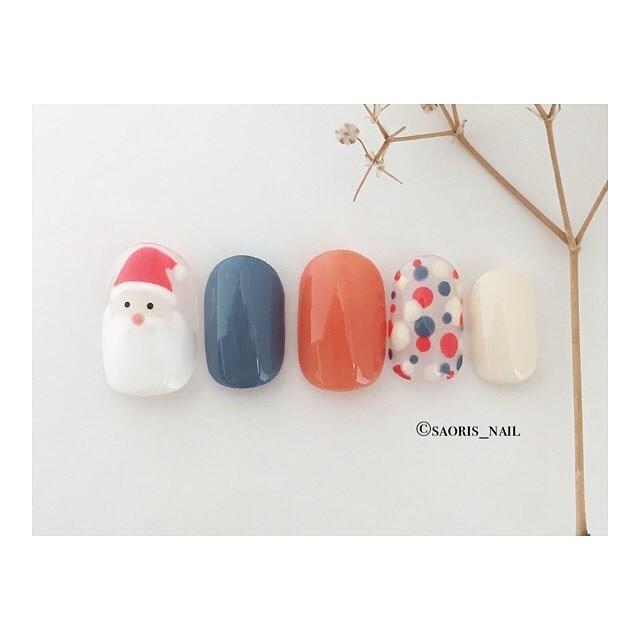 ♥ 聖誕節的簡約搭配!美甲的重要節日 8