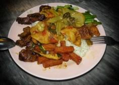 Ee Beng Vegetarian Food – My plate ;)