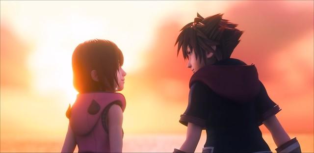Kingdom Hearts 3 - Sora e Kairi