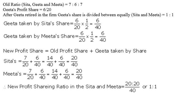 TS Grewal Accountancy Class 12 Solutions Chapter 5 Retirement Death of a Partner Q4