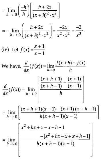 NCERT Solutions for Class 11 Maths Chapter 13 Limits and Derivatives 73
