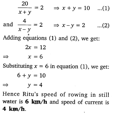 NCERT Solutions for Class 10 Maths Chapter 3 Pair of Linear Equations in Two Variables e6 2
