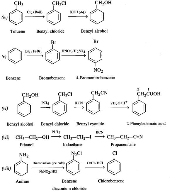 NCERT Solutions for Class 12 Chemistry Chapter 11 Alcohols, Phenols and Ehers e 19a
