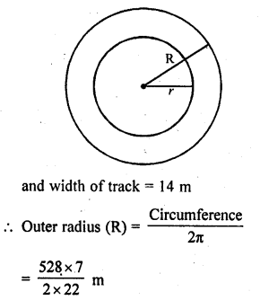 RD Sharma Class 10 Solutions Chapter 13 Areas Related to Circles Ex 13.1 29