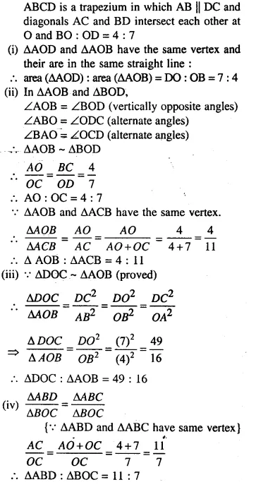 Selina Concise Mathematics Class 10 ICSE Solutions Chapterwise Revision Exercise 72
