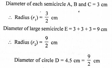 RD Sharma Class 10 Solutions Chapter 13 Areas Related to Circles Ex 13.4 - 39a