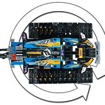 LEGO Technic 42095 Remote Controlled Stunt Racer 6