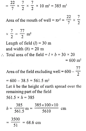 RD Sharma Class 10 Solutions Chapter 14 Surface Areas and Volumes  RV 5