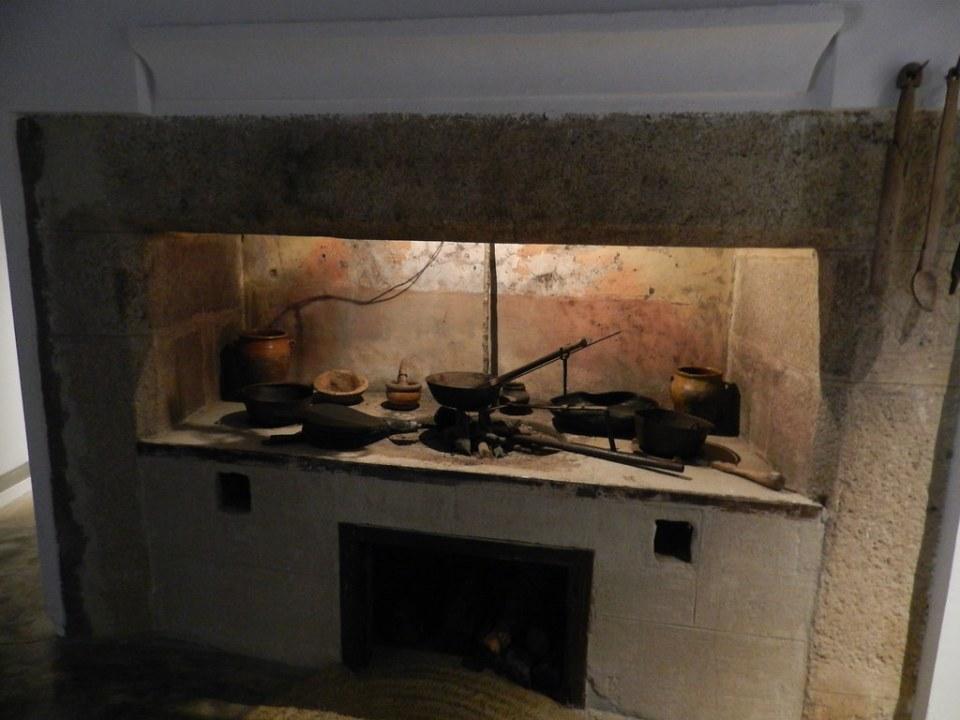 antigua cocina de leña Centro de Vias Pecuarias Malpartida de Caceres Caceres