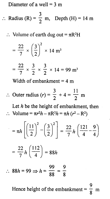 RD Sharma Class 10 Solutions Chapter 14 Surface Areas and Volumes Ex 14.1 32