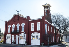 Old Fire Station in Adrian, Michigan