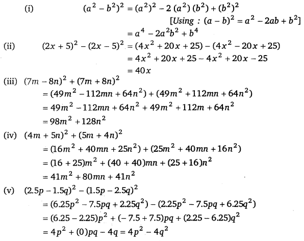 NCERT Solutions for Class 8 Maths Chapter 9 Algebraic Expressions and Identities 28