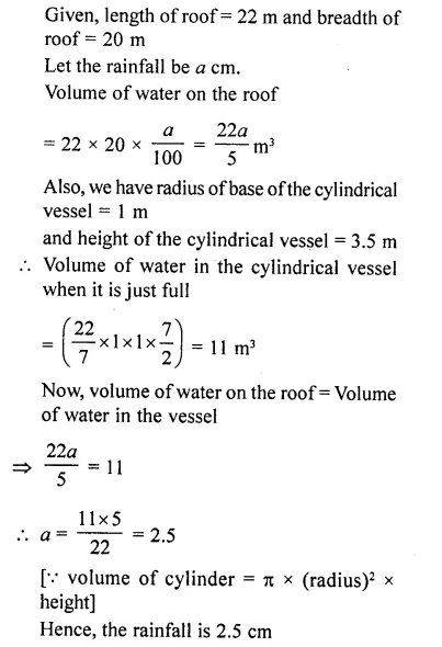 RD Sharma Class 10 Solutions Chapter 14 Surface Areas and Volumes Ex 14.1 36