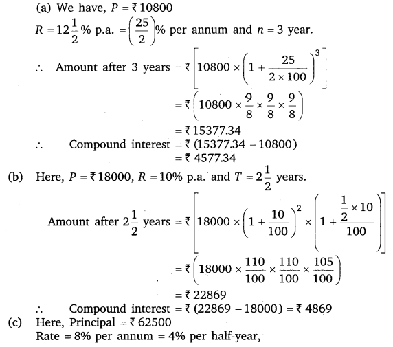 NCERT Solutions for Class 8 Maths Chapter 8 Comparing Quantities 11