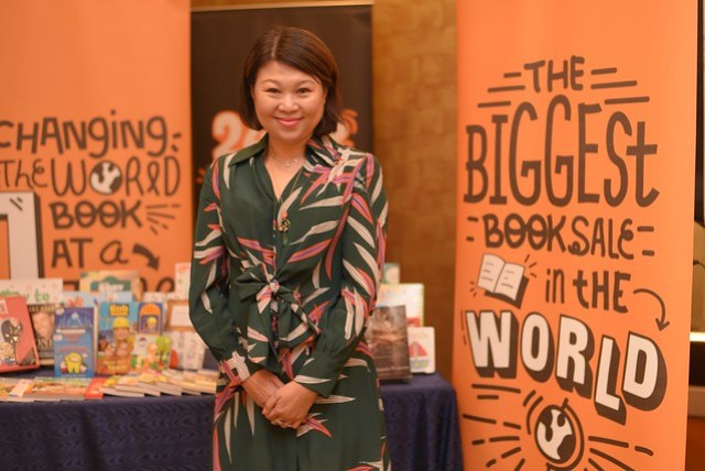 Jacqueline Ng, Founder of Big Bad Wolf Books, Profile Shot