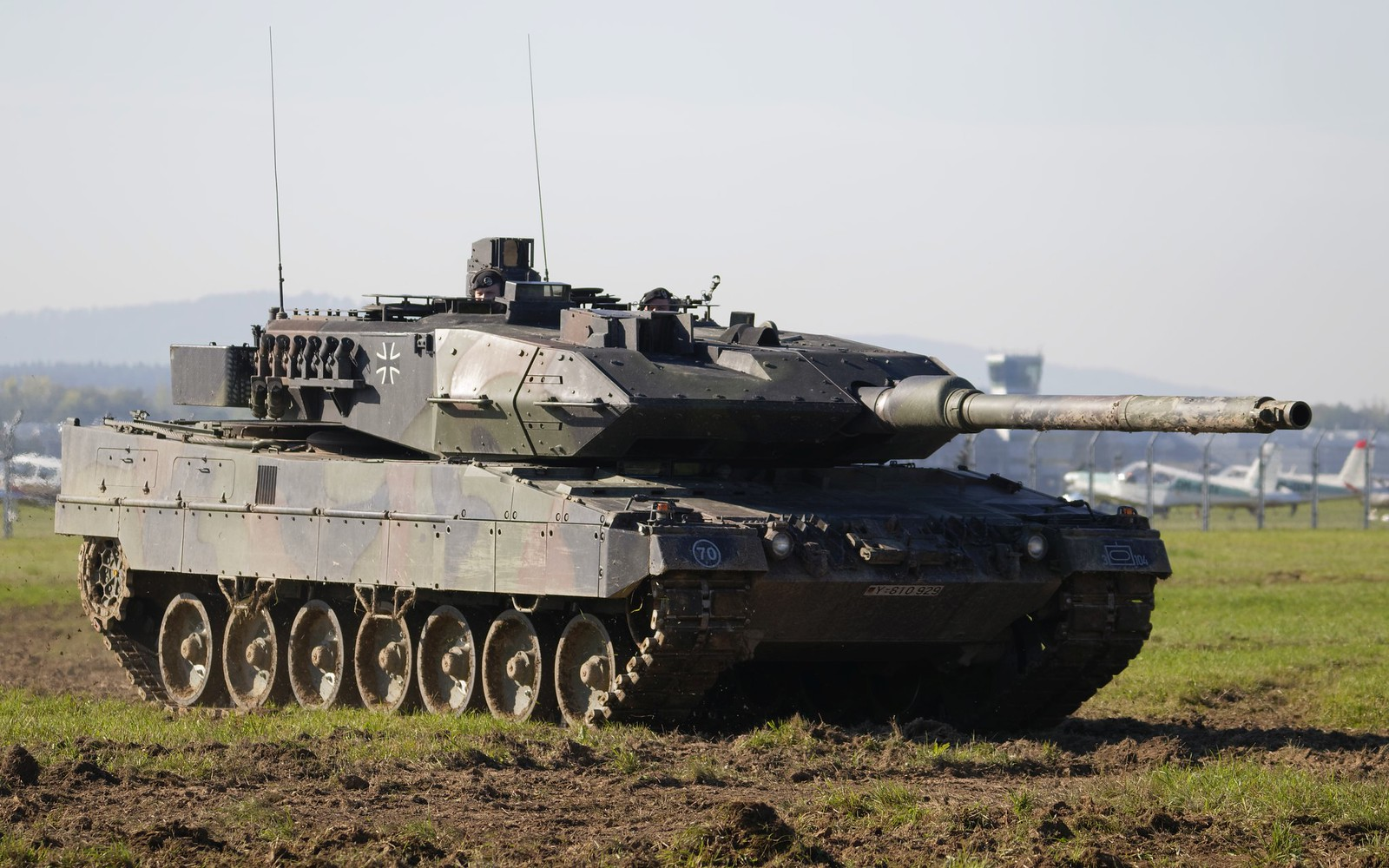 Bundeswehrkampfpanzer Leopard 2A5 @ LKMT