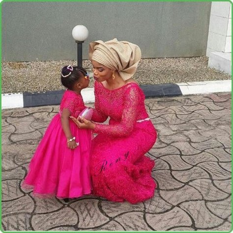 African Mother and child Fashion