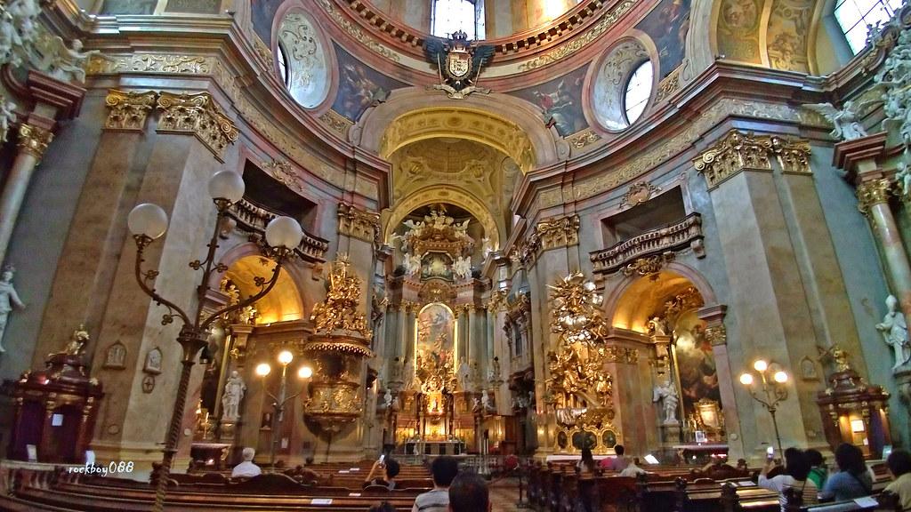 [奧地利] 維也納 聖彼得教堂 Katholische Kirche St. Peter @ 記憶拼圖 :: 痞客邦