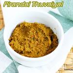 Pirandai Karuveppilai Thuvaiyal recipe