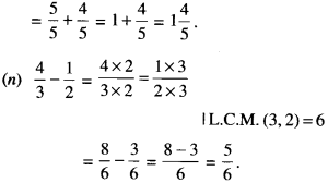 NCERT Solutions for Class 6 Maths Chapter 7 Fractions 104