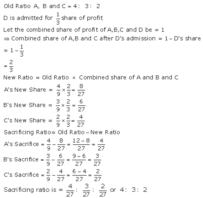 TS Grewal Accountancy Class 12 Solutions Chapter 4 Admission of a Partner Q12