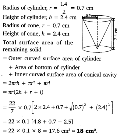 NCERT Solutions for Class 10 Maths Chapter 13 Surface Areas and Volumes 9