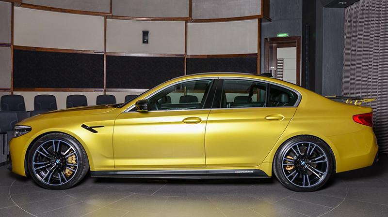 bmw-m5-yellow (7)
