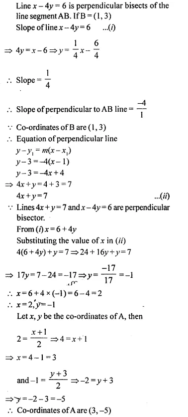 Selina Concise Mathematics Class 10 ICSE Solutions Chapterwise Revision Exercise 64