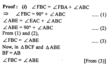 ML Aggarwal Class 9 Solutions for ICSE Maths Chapter 14 Theorems on Area    17b
