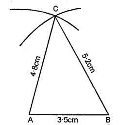 Selina Concise Mathematics Class 6 ICSE Solutions - Triangles (Including Types, Properties and Constructions) -b2