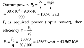 NCERT Solutions for Class 11 Physics Chapter 6 Work Energy And Power 10
