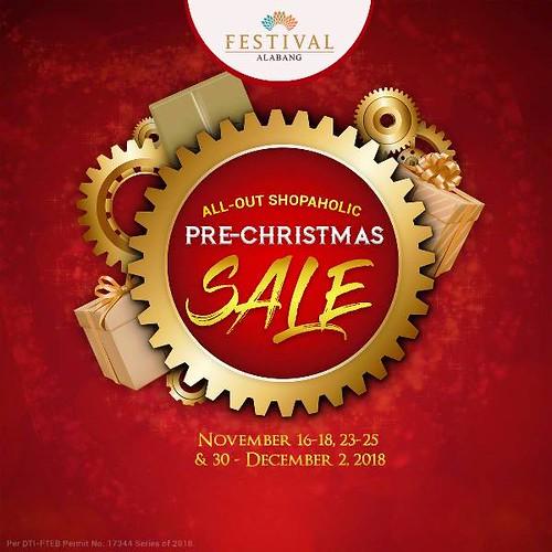 Pre-Christmas Sale Festival Mall