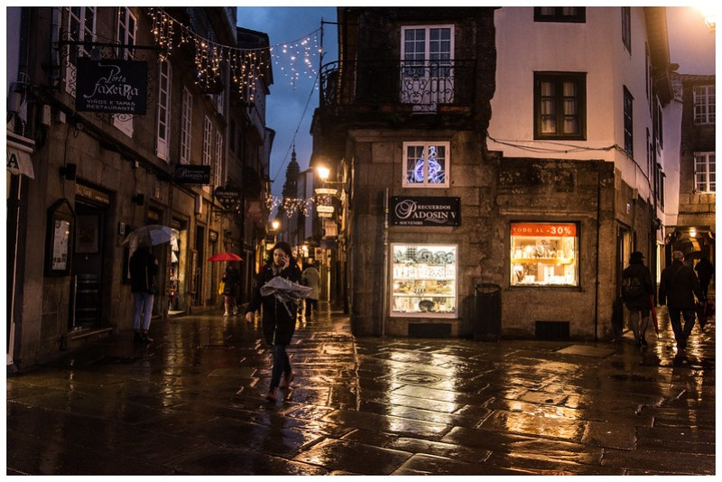 casco histórico de Santiago de Compostela