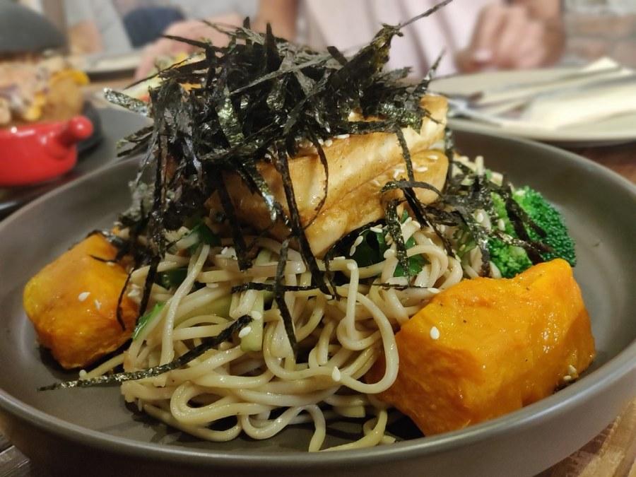 Teriyaki Soba Noodles Pop Vegan Hong Kong