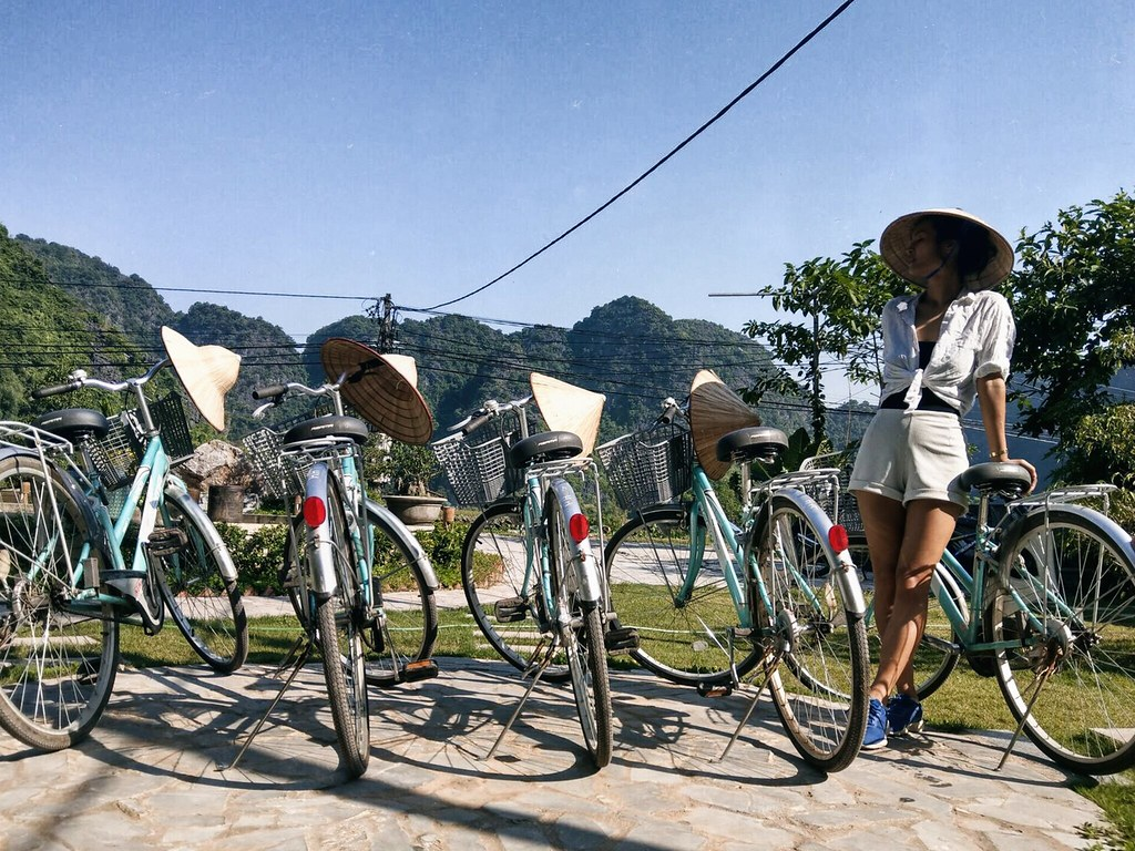 bike tour at the Ninh Binh Retreat