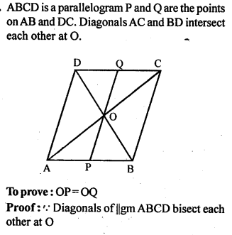 ML Aggarwal Class 9 Solutions for ICSE Maths Chapter 13 Rectilinear Figures  ex 13