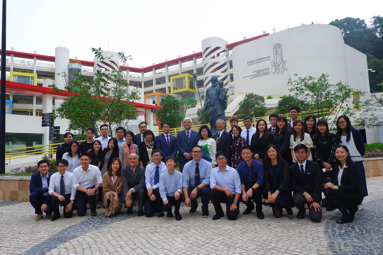 香港高主教書院參訪本校 - 聖若瑟教區中學