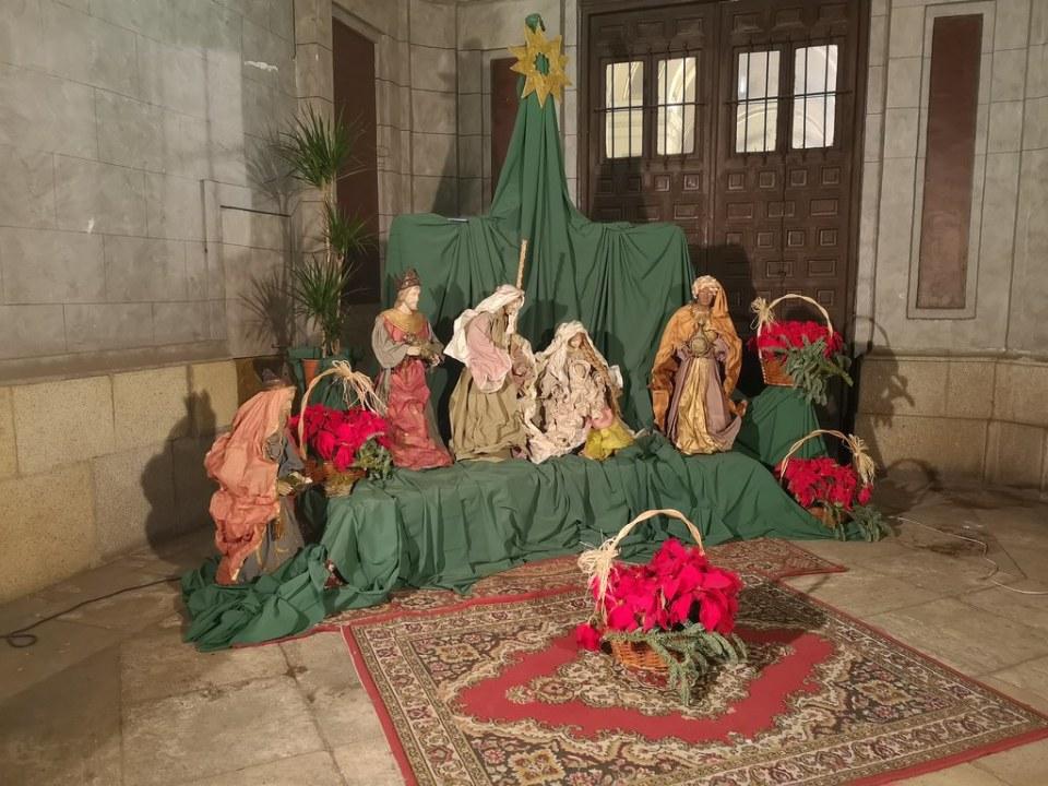 Navidades en Madrid 2018 portal de belén iglesia de San José