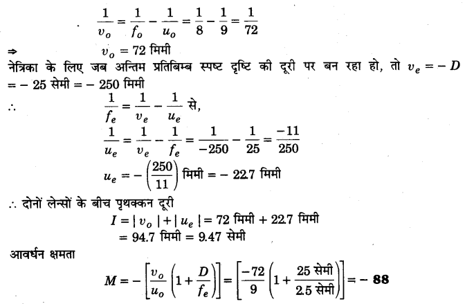 UP Board Solutions for Class 12 Physics Chapter 9 Ray Optics and Optical Instruments Q12.1