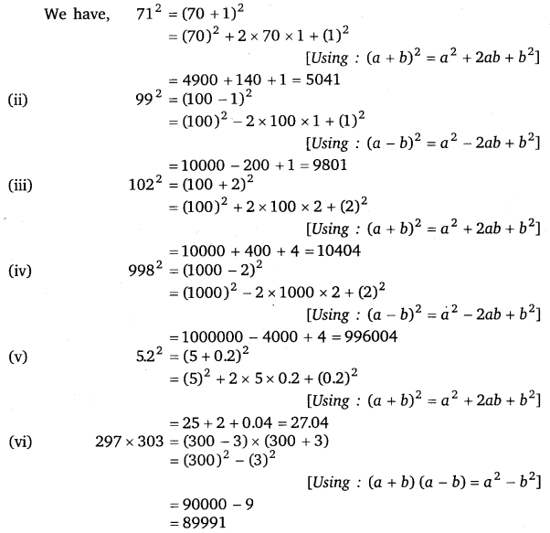 NCERT Solutions for Class 8 Maths Chapter 9 Algebraic Expressions and Identities 32