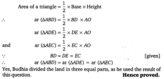 NCERT Solutions for Class 9 Maths Chapter 9 Area of parallelograms and Triangles 36