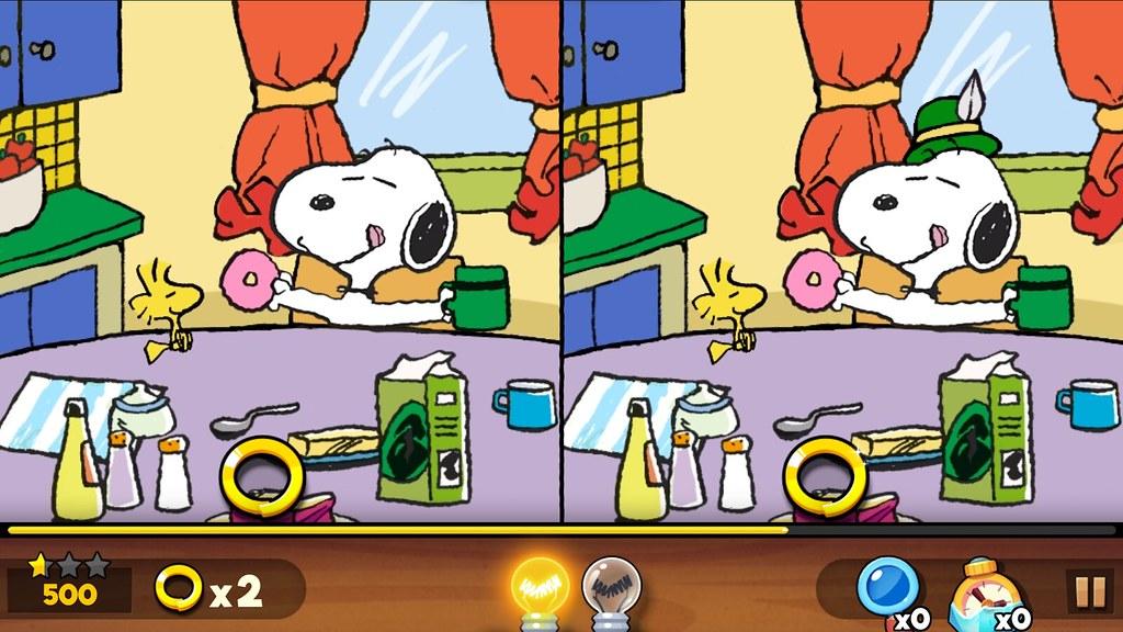 【試玩】Snoopy Spot the Difference-史努比版的大家來找碴 - janice51244的創作 - 巴哈姆特