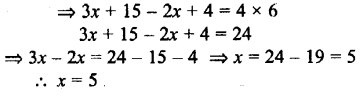 Selina Concise Mathematics class 7 ICSE Solutions - Simple Linear Equations (Including Word Problems) -c20...