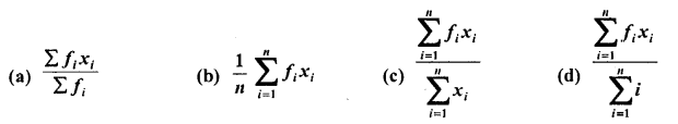 RD Sharma Class 10 Solutions Chapter 15 Statistics MCQS 13