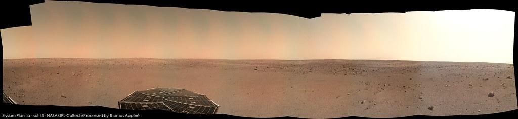 Elysium Planitia - sol 14