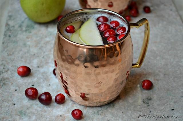 Cranberry Pear Mock Mule 4