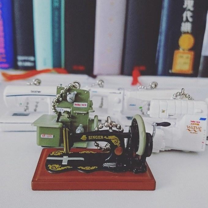 THE手芸 ミニチュアマスコット 4th season ミシンコレクション 全6種セット 第4弾